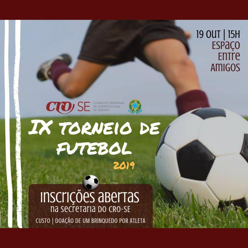 Torneio de Futebol - Inscrições Abertas