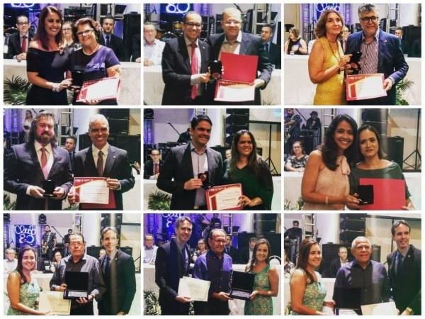 CRO-SE condecora seis homenageados com Medalha de Honra ao Mérito Odontológico