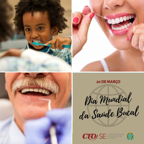 Dia Mundial da Saúde Bucal | CRO-SE alerta para a manutenção de cuidados