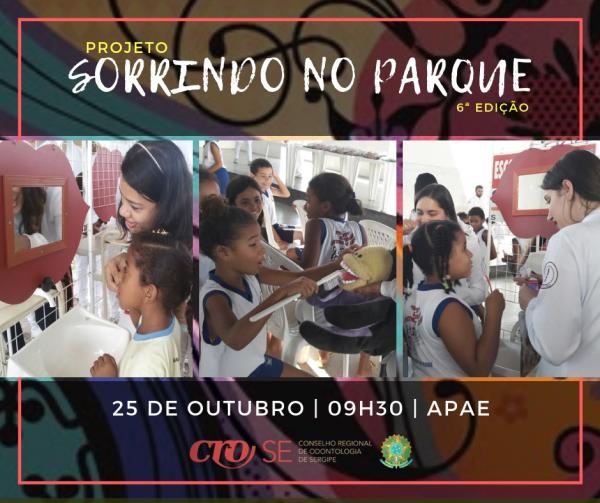 CRO-SE celebra Dia do Dentista na APAE com Projeto Sorrindo no Parque