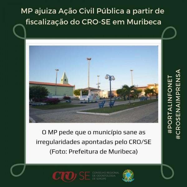 MP ajuíza Ação Civil Pública a partir de fiscalização do CRO-SE em Muribeca