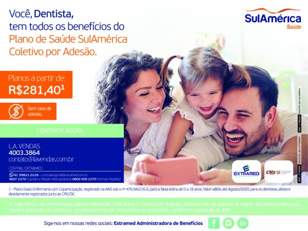 Plano de Saúde SulAmérica e EXTRAMED