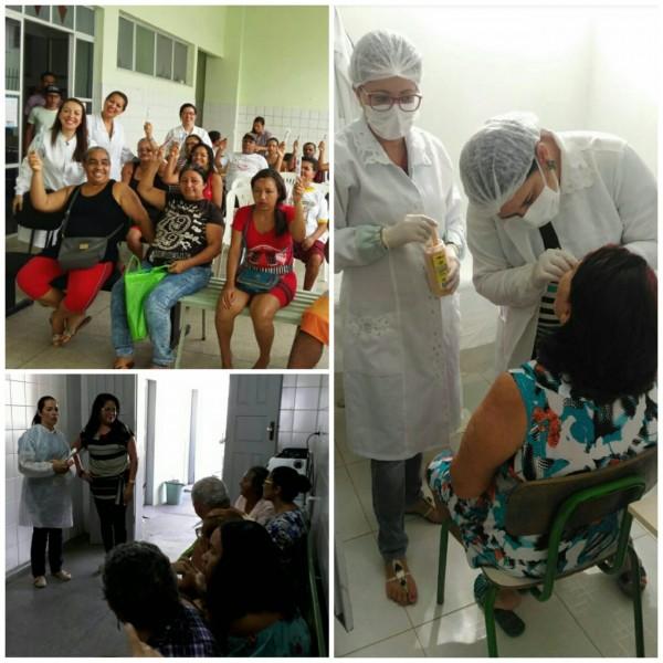 Em parceria com o CRO-SE, Saúde de Estância faz campanha de diagnóstico precoce de câncer de boca