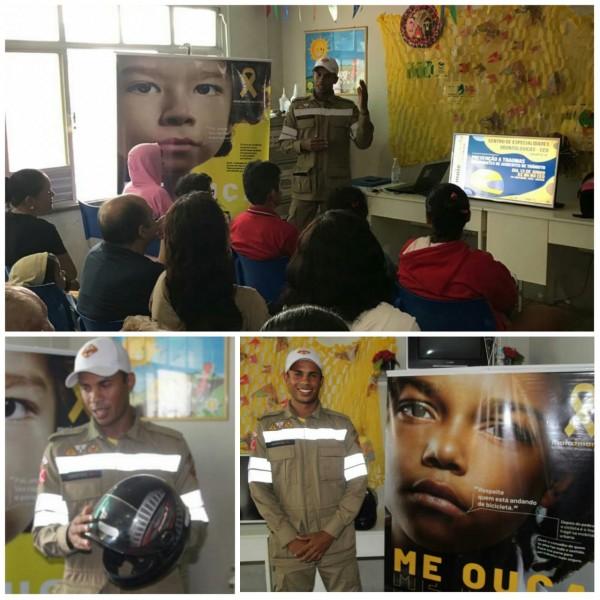 LAGARTO | CEO adere à campanha de prevenção a traumas bucomaxilofaciais em acidentes de trânsito