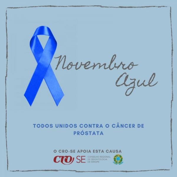 NOVEMBRO AZUL | CFO e CROs fortalecem campanha mundial de combate ao câncer de próstata