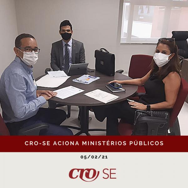 CRO-SE aciona Ministérios Públicos sobre vacinação de profissionais da Odontologia