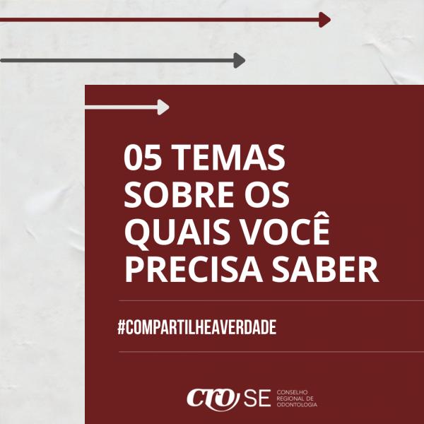 TRANSPARÊNCIA | CRO-SE incentiva o acesso à informação