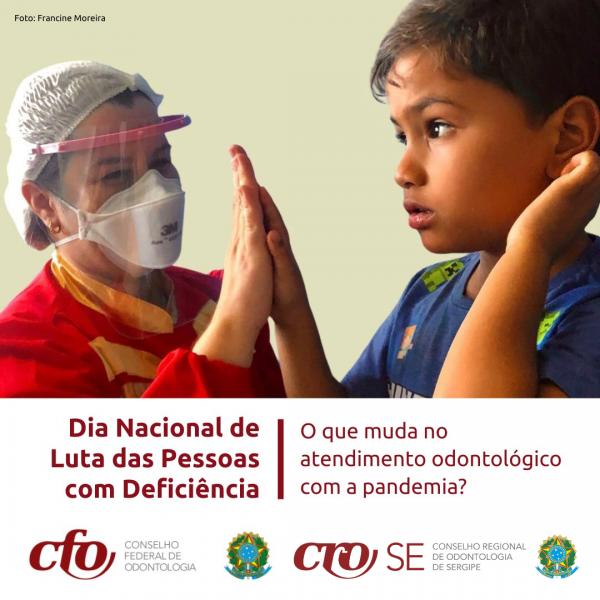 """Dia Nacional de Luta das Pessoas com Deficiência: """"pandemia define nova rotina no atendimento odontológico"""", afirma especialista"""