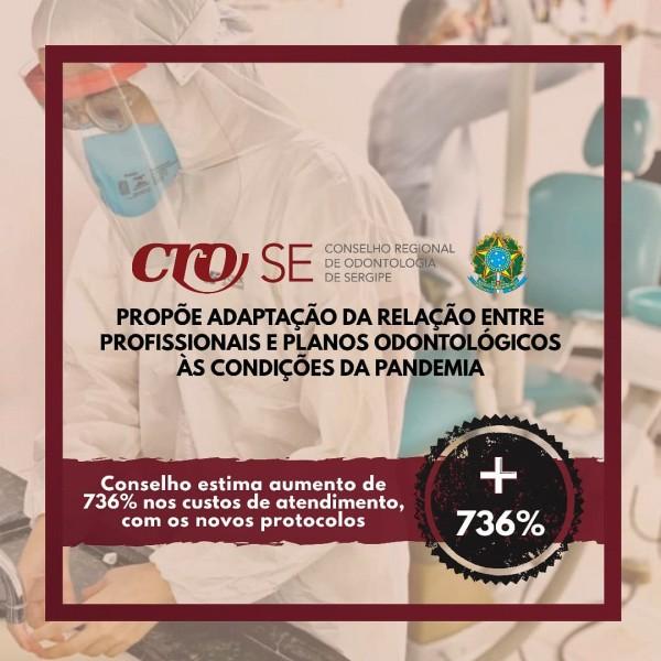 CRO-SE propõe adaptação da relação entre profissionais e planos odontológicos às condições da pandemia