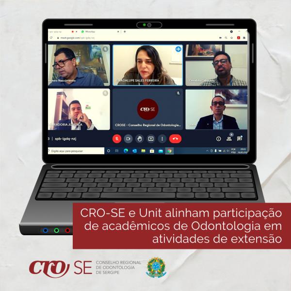 CRO-SE e Unit alinham participação de acadêmicos de Odontologia em atividades de extensão
