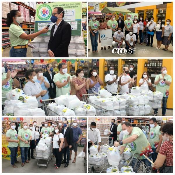 Fórum dos Conselhos entrega mais de uma tonelada de alimentos a seis entidades socioassistenciais